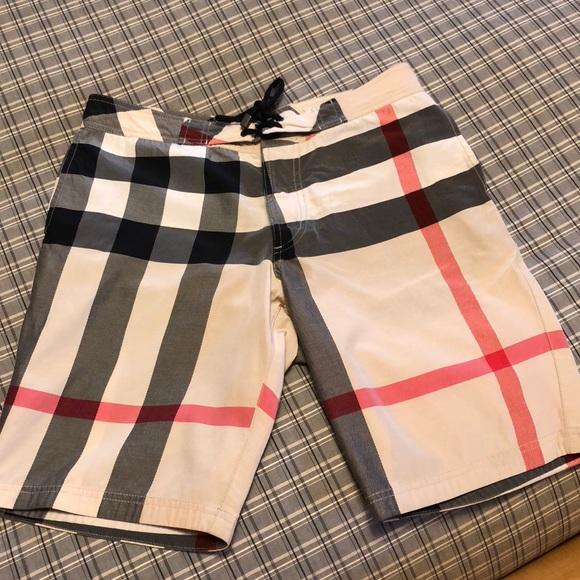 4e3c8d1542 Burberry Shorts   Check Swim Trunks   Poshmark